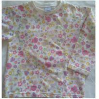 Pijama em malha flanelada - 4 anos - Forma Básica