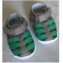 Sandalia pano para bebe - 13 - Não informada