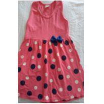 Vestido Verão Rosa - 6 anos - Não informada