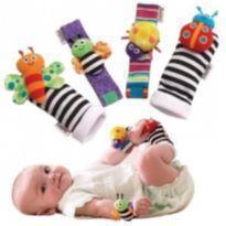 Kit Interativo Bebê Meias e Pulseiras Divertidas 4 Pçs -  - Lamaze