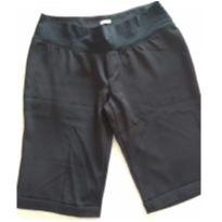 Bermuda Social Gestante Preta - M - 40 - 42 - d Rafa moda gestante