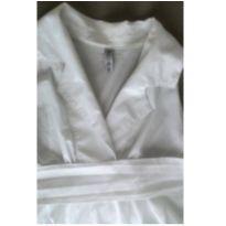 Camisa de gestante branca - G - 44 - 46 - Megadose