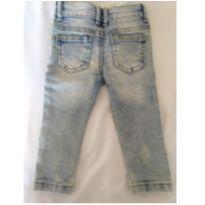 Calça Jeans - 6 a 9 meses - Denin Baby