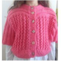 Blusa de trico feita a mão - 5 anos - Feito à mão
