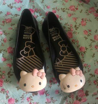 Sapatilha Hello Kitty Melissa - 27 - Melissa