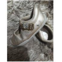Sapato Bibi Dourado - 24 - Bibi