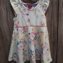 Vestido Floral - 3 anos - Kyly