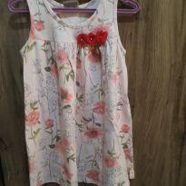 Vestido Floral Milon - 3 anos - Milon