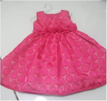 Vestido festa Rosa Pink - 2 anos - Pupi