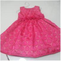 Vestido festa Rosa Pink