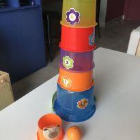 Torre de encaixe com bola -  - Calesita