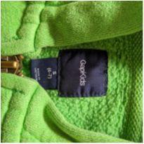 Moletom GAP com ziper verde - 6 anos - GAP