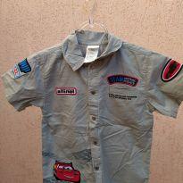 Camisa disney carros - 5 anos - Disney