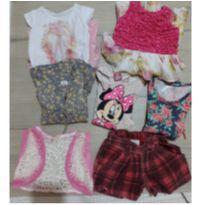 lote de roupas de meninas - 18 meses - Várias