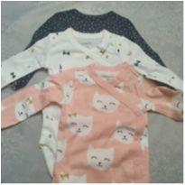 Kit 3 Bodys - 3 meses - Carter`s