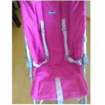 Carrinho de bebe da marca Chicco na cor pink usado -  - Chicco