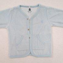 Casaquinho de PLUSH azul - 12 a 18 meses - Baby Club