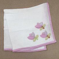 Toalha fralda decorada - Sem faixa etaria - Artesanal