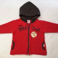 Casaco vermelho TIGRÃO - 1 ano - Brandili