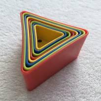 Triângulos de empilhar -  - Não informada