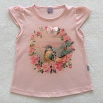 Blusinha Birds - 6 anos - Quebra Cabeça