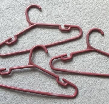 Kit 13 cabides PINK 02 - Sem faixa etaria - Não informada
