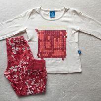Pijama CAÇA PALAVRAS - 2 anos - Hering Kids
