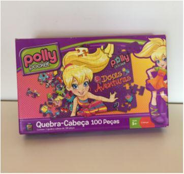 Quebra-cabeça POLLY - Sem faixa etaria - Mattel