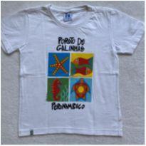 Camiseta PORTO DE GALINHAS - 4 anos - Não informada