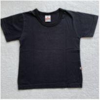 Camiseta básica PRETA - 3 anos - Brandili