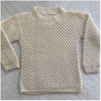 Blusa lã PIPOQUINHA - 10 anos - Artesanal