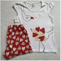 Pijama AVESTRUZ - 10 anos - Brandili
