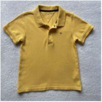 Polo TOMMY amarela - 4 anos - Tommy Hilfiger