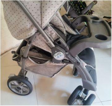 Carrinho de passeio - Sem faixa etaria - Burigotto