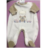 Macacão de plush - Recém Nascido - Baby fashion