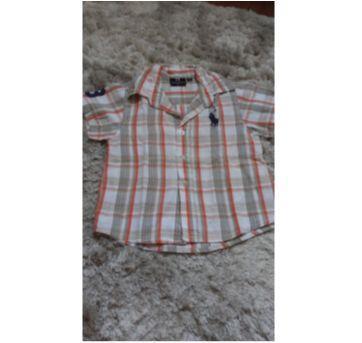 Camisa manga curta Ralph Lauren - 2 anos - Ralph Lauren