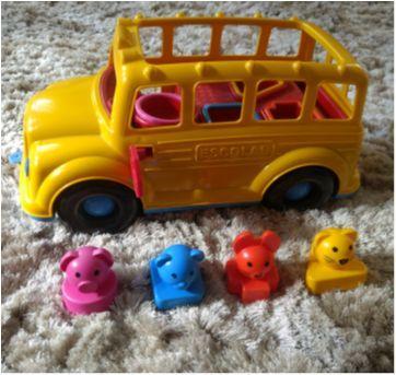Bus escolar com som - Sem faixa etaria - Poliplac