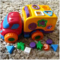 Caminhão de encaixe -  - Diver Toys