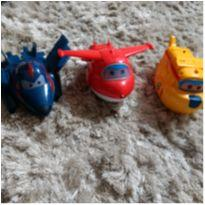 KIt 3 aviões Super Wings