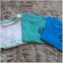 Lote 6 camisas 2/3 anos - 2 anos - Diversas