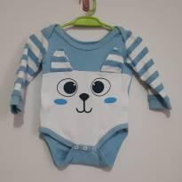 Body de manga comprida - 3 a 6 meses - Basic + Baby