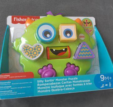 Brinquedo Monstro Quebra Cabeça - Fisher Price - Sem faixa etaria - Fisher Price