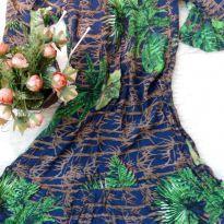 Vestido Floral - P - 38 - Não informada