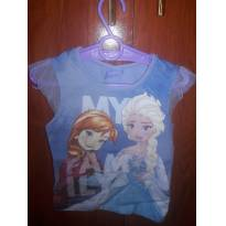 Blusa azul Frozen - 2 anos - Disney