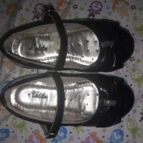 Sapato Preto - 24 - Não informada