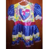 Vestido junina - 3 anos - Não informada