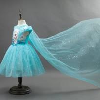 Vestido Frozen Elsa - 3 anos - Importada
