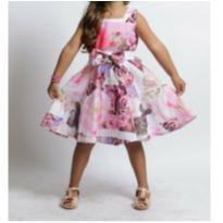 Vestido luxo festa - 4 anos - Bambolina