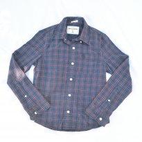 Camisa Xadrez Azul Marinho Abercrombie - 8 anos - Abercrombie