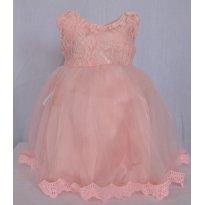 Vestidode festa  Infantil - Laço - 2 anos - Não informada